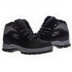 Ghete Nike Mandara Barbati negru - Ghete barbati Nike, Marime: 38, 40, 41, 43, 44, Culoare: Din imagine, Textil