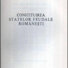 Constituirea statelor feudale romanesti - Istorie