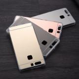 Husa silicon / Gel TPU cu spate oglinda pentru Huawei P9