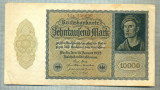 A 1016 BANCNOTA-GERMANIA-10000 MARK-ANUL 1922-SERIA 256699-starea care se vede