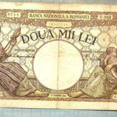 A1045 BANCNOTA-ROMANIA-2000 LEI- 10 OCTOMVRIE 1944-SERIA3053-starea care se vede - Bancnota romaneasca