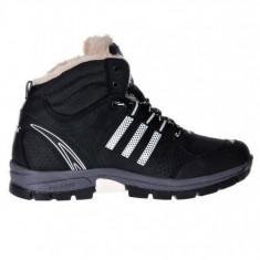Bocanci Adidas Outdoor Barbati negru-piele PERFECTI - Bocanci barbati Adidas, Marime: 40, 41, 42, 43, 44, Culoare: Din imagine