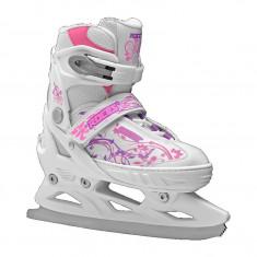 Patine copii Roces Jokey Ice pink/white