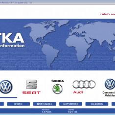 ETKA 7.5 - 2017 - catalog piese VW AUDI SKODA SEAT - ROMANA - Manual auto