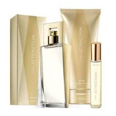 Set cadou Avon Attrachion for her - Set parfum