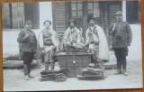 Hoti de opinci din Lapugiu de Sus , Hunedoara , prinsi de jandarmi , interbelica, Necirculata, Fotografie