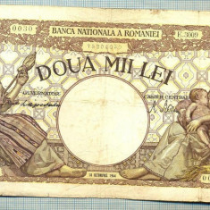 A1030 BANCNOTA-ROMANIA-2000 LEI- 10 OCTOMVRIE 1944-SERIA3009-starea care se vede - Bancnota romaneasca