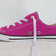 Tenisi Converse All Star originali de panza, marimea 40 EUR (25.5 cm) - Tenisi dama, Culoare: Mov