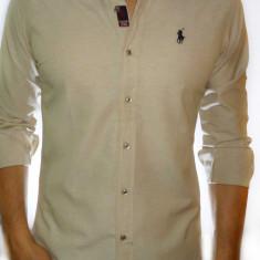 Camasa Polo by Ralph Lauren - camasa slim fit camasa bej slim fit cod 8 - Camasa barbati Polo By Ralph Lauren, Marime: S, M, XL, Culoare: Din imagine, Maneca lunga