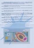 Bancnota Romania 2.000 Lei 1999 - P111b UNC ( polimer - eclipsa - in folder BNR)