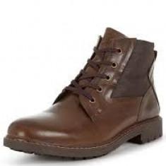 Ghete Firetrap Blackseal Tobin Boots marimea 42 - Ghete barbati Firetrap, Culoare: Maro, Piele naturala