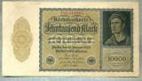 A 1017 BANCNOTA-GERMANIA-10000 MARK-ANUL 1922-SERIA 416104-starea care se vede