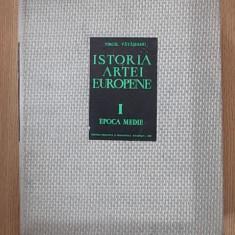 ISTORIA ARTEI EUROPENE- VATASIANU- VOL I- EPOCA MEDIE- CARTONATA - Carte Istoria artei