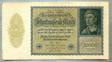A 1018 BANCNOTA-GERMANIA-10000 MARK-ANUL 1922-SERIA 243580-starea care se vede