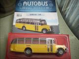 Macheta autobuz SAURER 4LC - 1949 scara 1:43