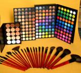 Trusa machiaj farduri MAC 180 culori 24 pensule fond de ten corector concealer !, Mac Cosmetics
