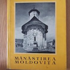 MANASTIREA MOLDOVITA- BALS, NICOLESCU- cartonata - Carti Istoria bisericii