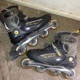 Role,rolere,inline skates,roti din silicon ,marime 46