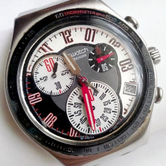 Swatch Irony Swiss AG 2006 - Ceas barbatesc Swatch, Elegant, Quartz, Inox, Cronograf