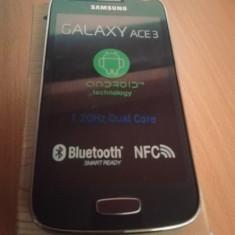 Telefon Samsung Galaxy Ace 3 S7270 nou / necodat, 32GB, Negru, Neblocat