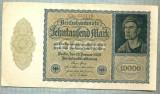 A 1020 BANCNOTA-GERMANIA-10000 MARK-ANUL 1922-SERIA 431110-starea care se vede