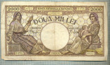 A1028 BANCNOTA-ROMANIA-2000 LEI- 18 NOEMVRIE 1941-SERIA 0756-starea care se vede