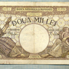 A1028 BANCNOTA-ROMANIA-2000 LEI- 18 NOEMVRIE 1941-SERIA 0756-starea care se vede - Bancnota romaneasca
