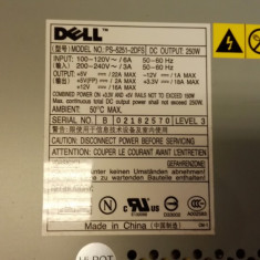 Sursa PC Dell Model PS-5251-2DFS, 250 Watt