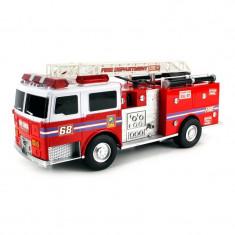 Masina pompieri Fire Truck, girofar, telecomanda - Masinuta