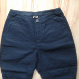 Pantaloni marimea XS marca NOA NOA model echitatie. - Pantaloni dama, Culoare: Bleumarin