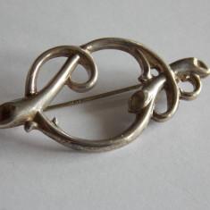 Brosa de argint vintage -21 - Brosa argint