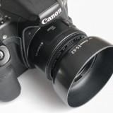 Parasolar tip ES 62 pt Canon EF 50mm 1.8 | baioneta |