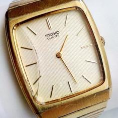 Ceas Seiko 8620-0340 placat cu aur - Ceas barbatesc Seiko, Elegant, Quartz, Analog