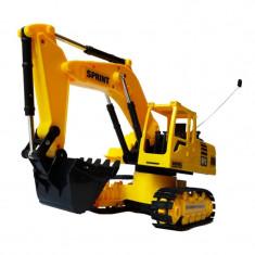 Excavator cu senile 3823, 6 canale, telecomanda - Masinuta