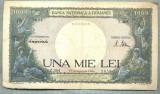A1040 BANCNOTA-ROMANIA-1000 LEI-10 OCTOMVRIE1944-SERIA 3361-starea care se vede