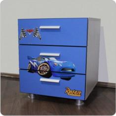 Comoda copii Cars albastru - Set mobila copii Altele