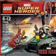 Lego Super Heroes 76008 Iron Man contra The Mandarin: Confruntarea finala Nou