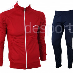 Trening barbati Nike - Model Nou - Silon - Bluza si pantalni conici Pret special, Marime: XL/XXL, Culoare: Din imagine