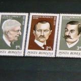 Serie MNH Aniversari personalitati istorie 1981  2+1 gratis RBK20098