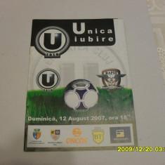 Program U Cluj - Rapid - Program meci
