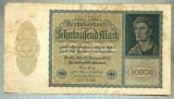 A 1001 BANCNOTA-GERMANIA-10000 MARK-ANUL 1922-SERIA 244343-starea care se vede