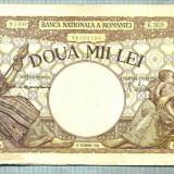 A1046 BANCNOTA-ROMANIA-2000 LEI- 10 OCTOMVRIE 1944-SERIA3125-starea care se vede - Bancnota romaneasca