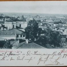 Galati ; Vedere generala in Vale , circulata la Timisoara in 1901 , clasica
