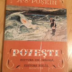 A. S. PUSKIN--POVESTI - Carte de povesti