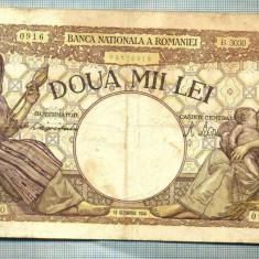 A1044 BANCNOTA-ROMANIA-2000 LEI- 10 OCTOMVRIE 1944-SERIA3030-starea care se vede - Bancnota romaneasca