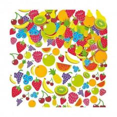 Autocolante Din Spuma Fructe - Baker Ross - Set rechizite