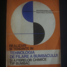 M. M. CHIVU, ... - REALIZRI SI TENDINTE IN TEHNOLOGIA DE FILARE A BUMBACULUI