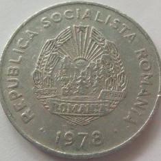 Moneda 5 Lei - RS ROMÂNIA, anul 1978 *cod 3473 Allu-vF - Moneda Romania, Aluminiu