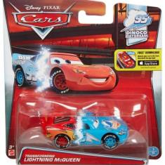 Masinuta Mattel Fulger McQueen Transforming Cars