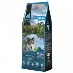 Wolf'S Mountain Alaska River - Somon & Pui si Fructe & Legume - 12.5 kg - Hrana completa super-premium, hipoalergenica